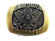1980 Stati Uniti Militare Fibbia Della Cintura da Indiana Metallo Craft 092614