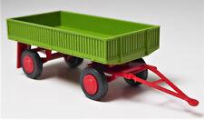 H0 Landwirtschaftliche Anhänger E 5 Pritsche conow grün Stahlleichtbauweise DDR