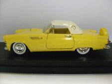 Rio 1:43 1956 Ford Thunderbird Hardtop in Yellow