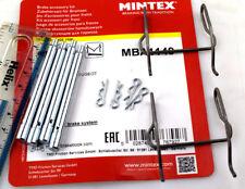 PEUGEOT 406 & 605 REAR BRAKE PAD PIN KIT / FITTING KIT (ATE TYPE) MBA1149