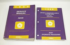 1996 Chrysler Neon Factory Service Manual GOOD USED CONDITION