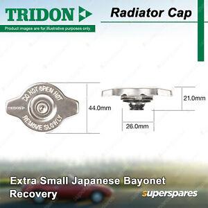 Tridon Radiator Cap for Subaru Impreza GF Legacy BH Liberty Outback MY10
