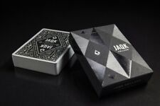 JAQK CELLARS BLACK LIMITED EDITION Poker Playing Cards by Theory 11