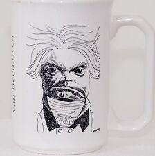 RARE Vintage Ludwig Van Beethoven Music Composer Coffee Mug Cup Stoneware