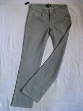 SEVEN 7 Damen Jeans Stretch Grey Denim W28/L34 low waist slim fit bootcut leg