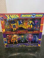 Vintage 1993 Marvel The Uncanny X-Men Mutant Hall Of Fame Action Figures Toy Biz