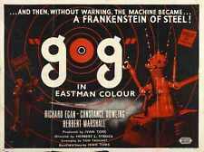 Gog Poster 04 Metal Sign A4 12x8 Aluminium