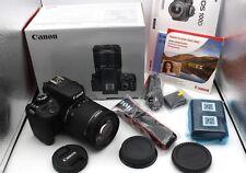 Canon EOS 100D EF-S 18-55 IS STM Kit Digitalkamera-Schwarz | Neuwertig & OVP