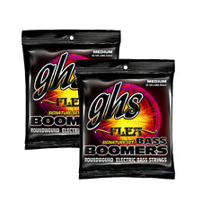 2-Pack GHS Flea Signature Boomers Long Scale Medium Electric Bass Strings 45-105