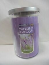 Yankee Candle Lavender Lot of 4 1 22 oz Large 1 3.7 oz Small and 2 Votives