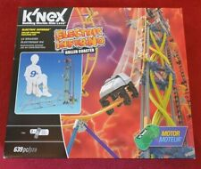 Knex Electric Inferno / Mega Monsoon Roller Coaster Mint Condition Instructions
