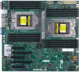Supermicro H11DSi Socket SP3 DDR4 Motherboard MBD-H11DSI-B for Dual Amd EPYC