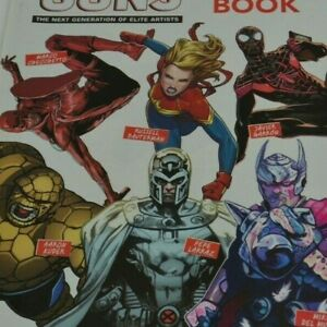 Marvel Young Guns 2019 Sketch-Book Free Edition Preview  Magazine Cool Graphics