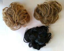 KOKO Fashion Wavy Hair Bun Synthetic Hairpiece Cute ClipIn Hair Extensions