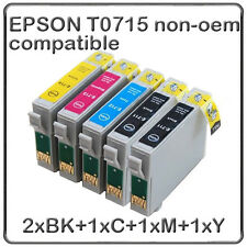 cartouches encre compatible non-oem imprimante epson T0715 +1 Noir T0711 à T0714