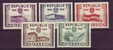 Geschichte Briefmarken (1950-1959) mit österreichische