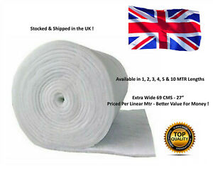 5M EX WIDE FILTER FLOSS WOOL MEDIA ROLL AQUARIUM POND FISH EXTERNAL TANK MARINE