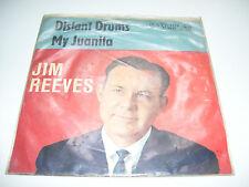 """Jim Reeves - Distant Drums / My Juanita 7"""" vinyl 45 RPM GERMANY 1962"""