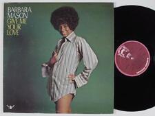 "BARBARA MASON~""GIVE ME YOUR LOVE""~ORIGINAL BUDDAH ""VG+ ""SHRINK""""~LP!!!"