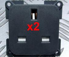 2 x 13A SOCKETS COMPATIBLE WITH C-LINE & CBE FRAMES CARAVAN MOTORHOME RV 13 AMP