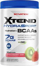 Scivation Xtend Hydrasport BCAA Powder, Branched Chain Amino Acids, BCAAs, Zero