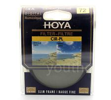 Hoya 72mm CPL CIR-PL Slim Circular Polarizing Digital Filter for Camera Lenses
