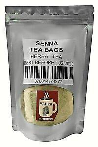 Premium Senna Tea Bags 100% All-natural Weight Loss and Detox