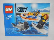 LEGO 60011 SURFER RESCUE Set City Jetski Shark Coast Guard Beach NEW Sealed Box