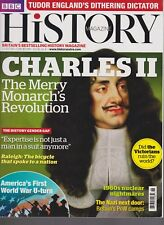 BBC HISTORY MAGAZINE CHARLES II THE MERRY MONARCH'S REVOLUTION VOL 18.NO 4