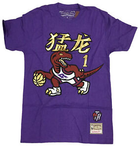 Mitchell & Ness Purple NBA Toronto Raptors Tracy McGrady Chinese New Year Name