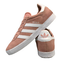 Adidas Gazelle Women's Shoes Size Uk 5.5 Pink Suede Casual Trainers EUR 38.5
