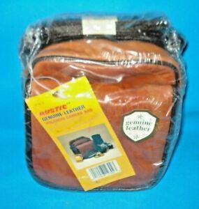 Vintage Kmart Rustic Genuine Leather Camera Bag