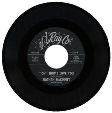 """NATHAN McKINNEY  """" 'OH' HOW I LOVE YOU c/w WEEP NO MORE""""  NORTHERN SOUL / R&B"""