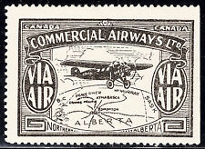 Canada 1929 Commercial Airways, Scott CL47, VF MH, catalogue - $160