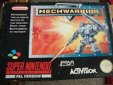 VINTAGE 1992 SUPER NINTENDO  SNES * COMPLETE * RARE * PAL * WITH EXTRA POSTER