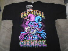 RARE OOP Insane Clown Posse SHIRT large Carnival of Carnage ICP rap NEW w/ TAGS