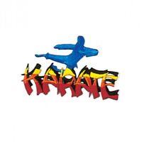 "Karate Martial Arts Patch - 3.5"" P1274"