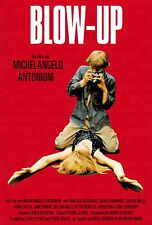 BLOW UP Movie POSTER 27x40 German D David Hemmings Vanessa Redgrave Sarah Miles