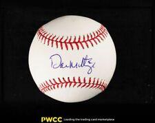 Don Mattingly Signed Autographed Baseball Sweet Spot AUTO, JSA COA
