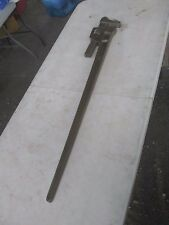 "AMPCO 48"" BRASS PIPEWRENCH  W216 A"