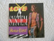 VINYLE - MAURIZIO PAVESI - FEATURING LISA SCOTT - LOVE SYSTEM - 1981 -