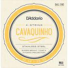 D'Addario EJ93 - Jeu de cordes cavaquinho