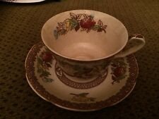 Maruta Teacup Saucer Indian Tree