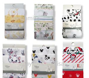Primark DISNEY Muslin Squares Baby Boys Girls Unisex Cloths 3 Pack Cloth Gift