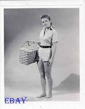 Luana Patten leggy barefoot VINTAGE Photo circa 1956