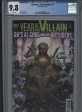 Batman & the Outsiders #7 CGC 9.8 beautiful ACETATE COVER Year of the Villain