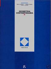 GEOMETRIA CONTEMPORANEA vol. 2 edizioni MIR