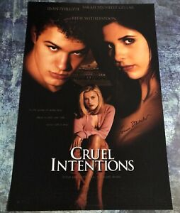 GFA Cruel Intentions Movie LOUISE FLETCHER Signed 12x18 Photo L4 COA