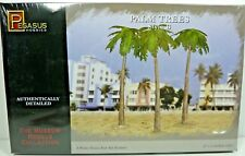 """Pegasus Museum Models Palm Trees Style B 3/pk 7.75"""" Tall All Scales New!"""