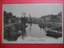 PONT-AVEN  :  Le Port en Aval.